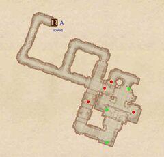 Форт Энтиус - Гробница. План