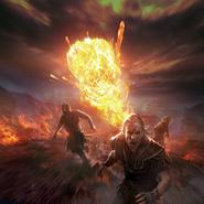Fireball card art