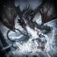 Icewing Dragon card art