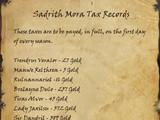 Sadrith Mora Tax Records