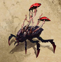 Shroom Beetle Concept Art