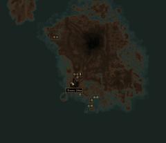 Плато Одай. Карта