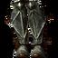 Стальные сапоги со щитками