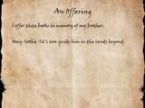 An Offering (Book)