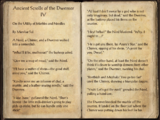 Ancient Scrolls of the Dwemer IV