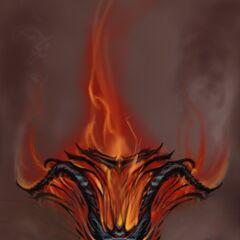 Grafika kocepcyjna atronacha ognia