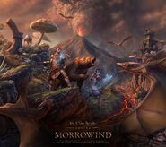 ESO Morrowind Wallpaper Square
