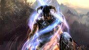 Skyrim dovahkiin consuming a dragon soul