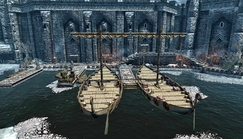 Windhelm Skyrim Docks