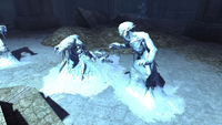 Морозная магия снежных эльфов