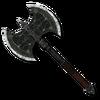 Северный серебряный боевой топор (TESIIIB)