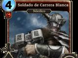 Soldado de Carrera Blanca