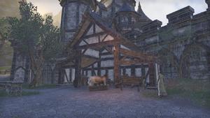 Здание в замке Алькаир 8