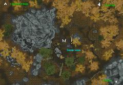 Осенняя поляна - план