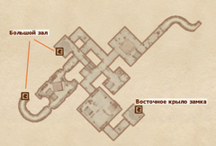 Подвал замка Боевого рога