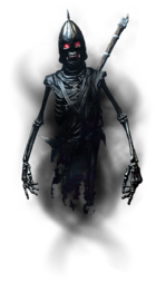 Порченая тень-Брат Бури с двуручным оружием в полный рост