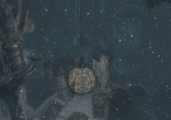 Снегопад в Чёрном Пределе, вид 2.