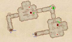 Форт Империя - Казармы. План