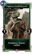 Fighters Guild Recruit (Legends) DWD
