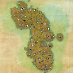 Ауридон-Площадка испытания Наследия-Карта