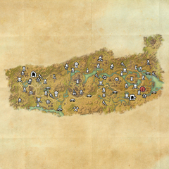 Дешаан-Тихое болото-Карта