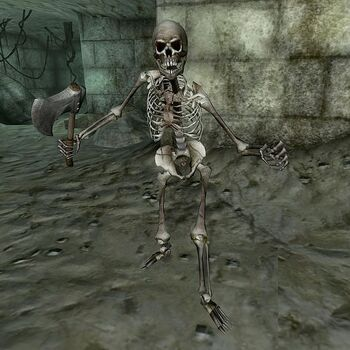 Скелет-герой