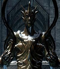 Auriel statue