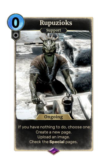 Custom User Card