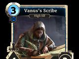 Vanus's Scribe