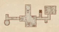 Замок Лейавин - Комнаты слуг. План