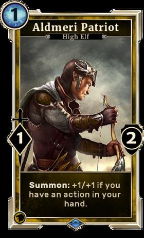 Card-Aldmeri Patriot