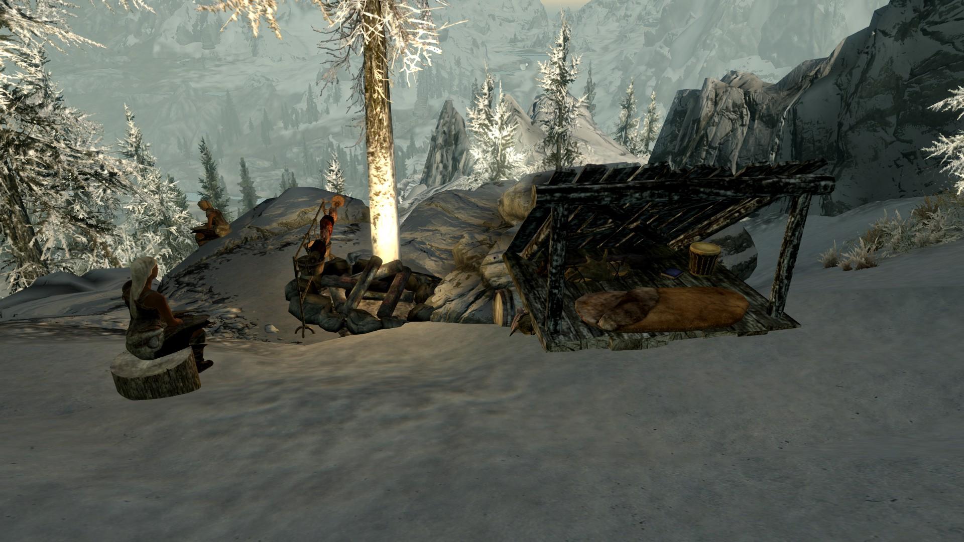 Hunter's Camp: Dunmeth Pass   Elder Scrolls   FANDOM powered by Wikia