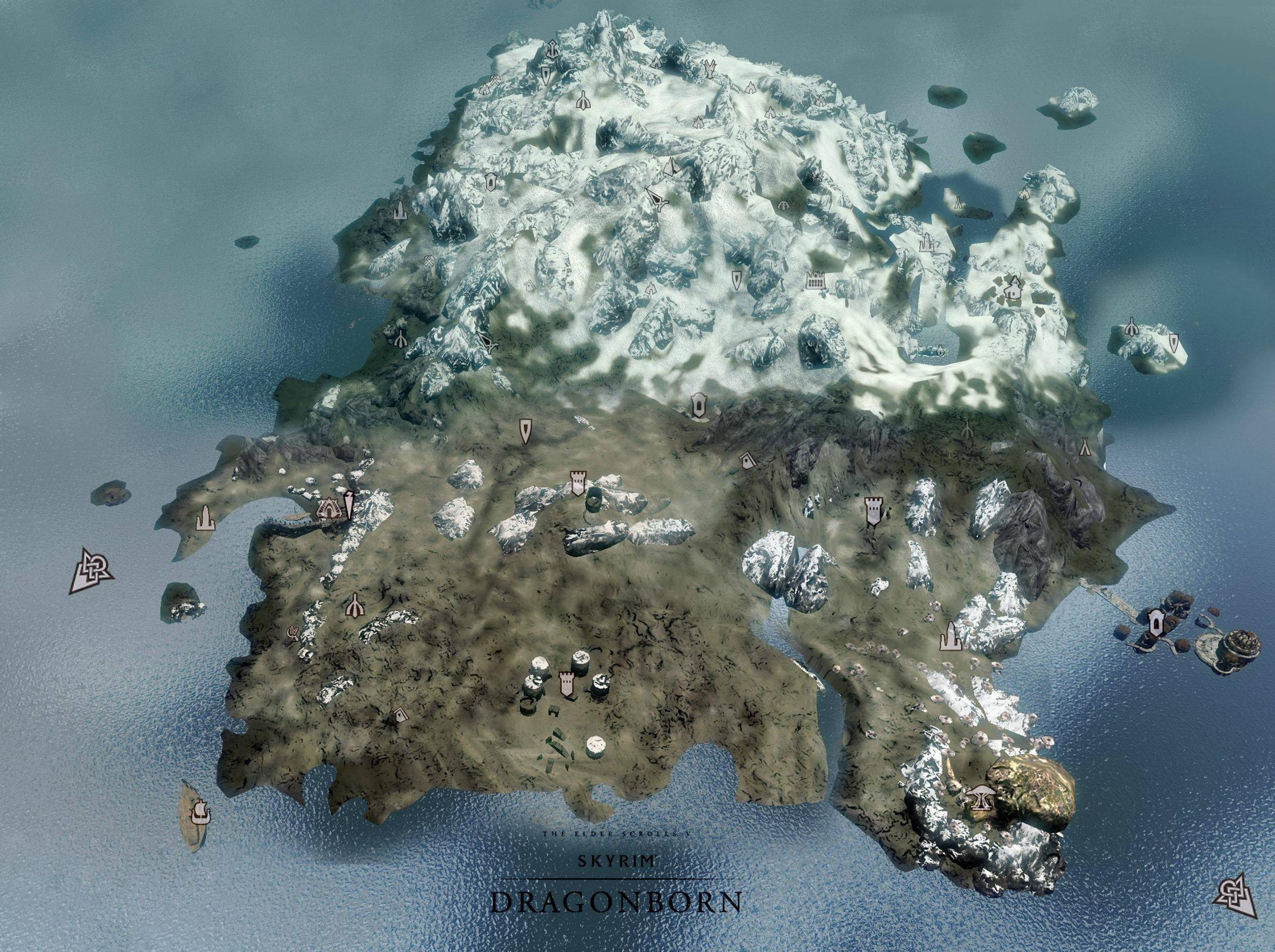 Skyrim Solstheim Map Solstheim (Dragonborn) | Elder Scrolls | FANDOM powered by Wikia