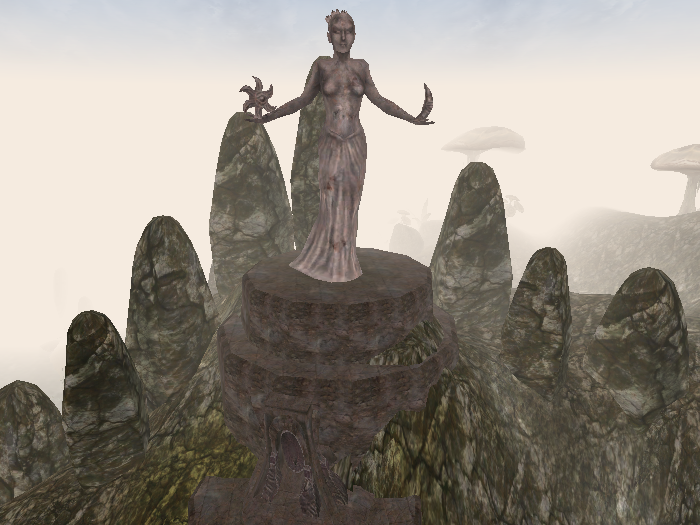 Image result for morrowind shrines art