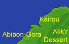 Абибон-Гора (Карта)