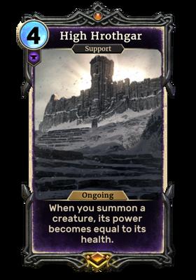 Высокий Хротгар (Card)