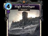 Высокий Хротгар (карта)