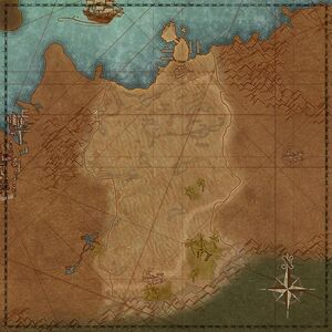 Гулкая пустыня (карта)