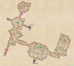 Пещера Замковый Камень. План