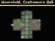 Craftmen's Hall - Interior Map - Tribunal