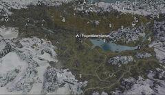 Разделенное ущелье карта