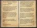 Blessed Almalexia's Fables for Morning pages 1-2.png