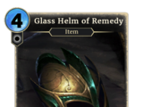 Glass Helm of Remedy