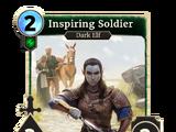 Inspiring Soldier