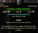 Queen's Own Cuirass