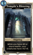 Temple's Blessing DWD