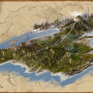 Grafika koncepcyjna wyspy <a href=