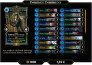 Dominion Dominance Deck 1