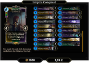 Empire Conquest Deck 2