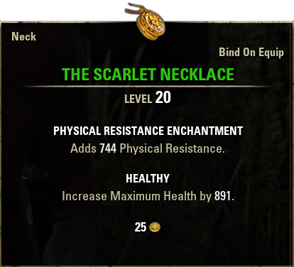 The Scarlet Necklace
